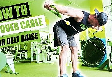 Bent Ower Low-Pulley Side Lateral Raise